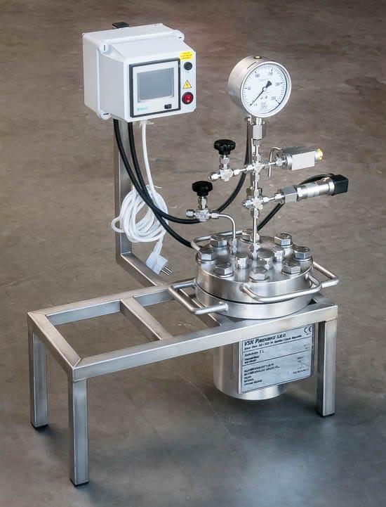 Autoclave 2L, 150bar, 150°C