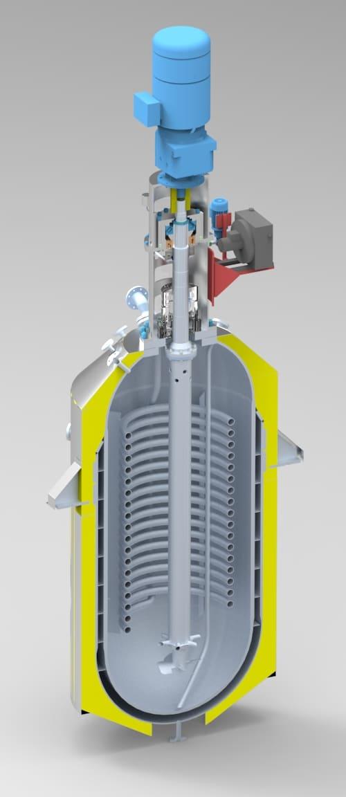 Autokláv R301 - 6000L, 60bar, 250°C