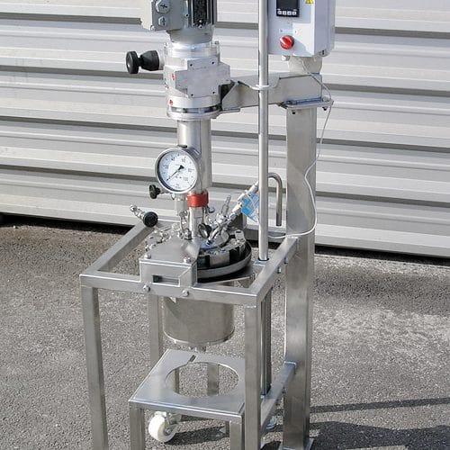 Hydrogenační autokláv 2 L, 50 bar