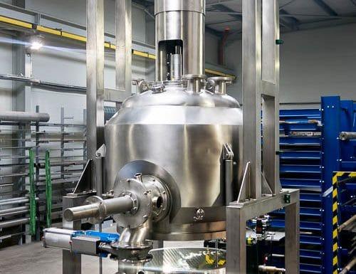 Procesní filtr F1, 6bar, 200°C