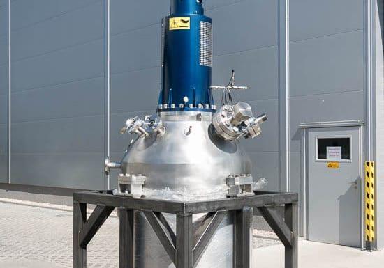 Reaktor 500 L, 100 bar, 250