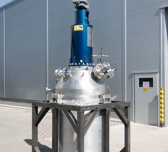 Reaktor 500 L, 100 bar, 250°C