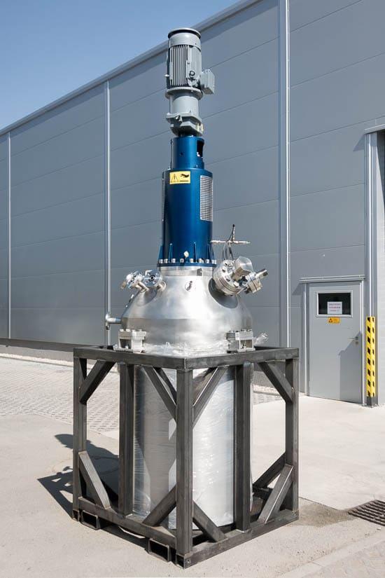 Reactor 500 L, 100 bar, 250°C