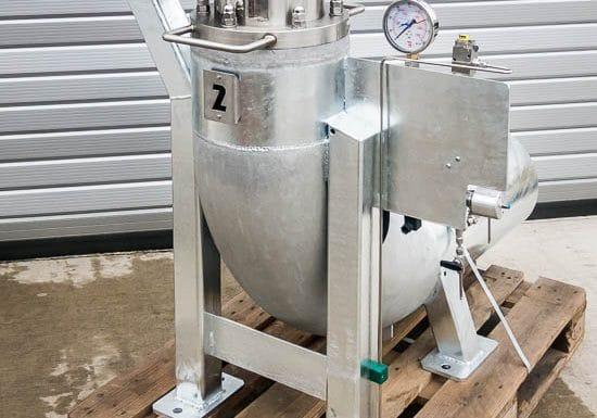 Zkušební nádoba 120 bar (typ ZA12B)
