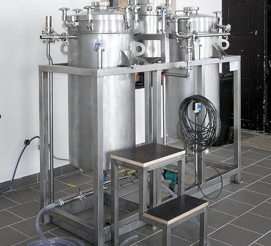Aparatura Oxycelulóza 200 L