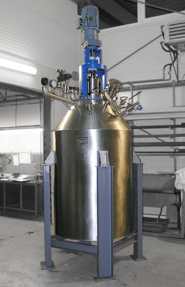 Hydrogenation autoclave 700 L 100 bar