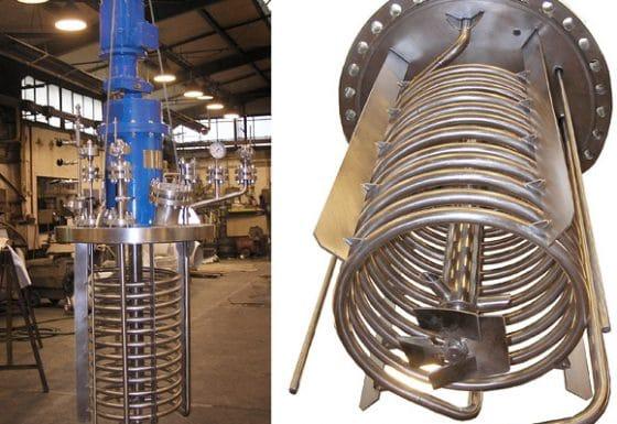 Hydrogenation autoclave 550 L, 40 bar, Hastelloy C-22