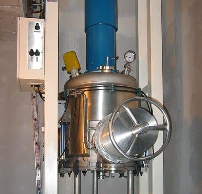 Procesní filtr DN 800