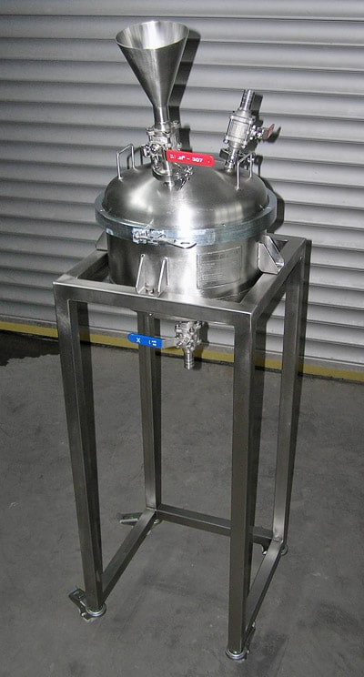 Nutche-filter DN400