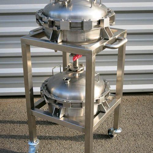 Filtrační nuč DN400, 6 bar + Separátor DN400, 3 bar