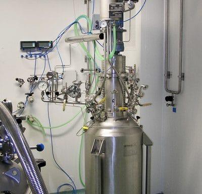 Hydrogenační autokláv 100 L, 14 bar