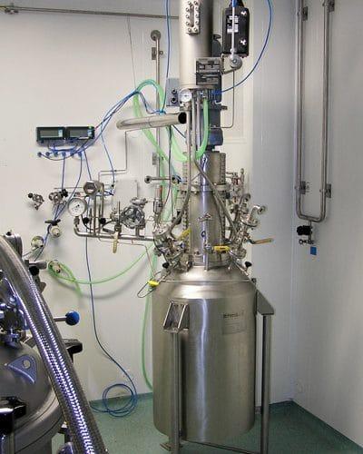 Hydrogenation autoclav 100 L, 14 bar