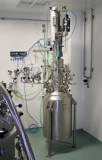Hydrogenation autoclav 100 L, 14 bar