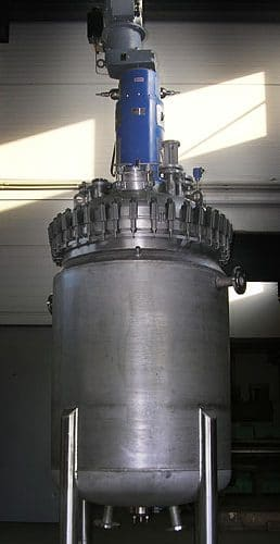 Hydrogenační autokláv 1100 L, Hastelloy C-22