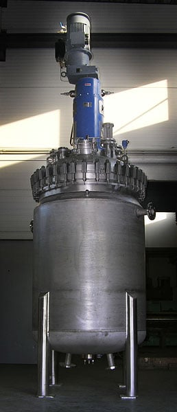 Hydrogenation autoclave 1100 L, Hastelloy C-22