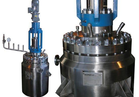 Hydrogenační autokláv 125 L, 120 bar, Hastelloy C-22