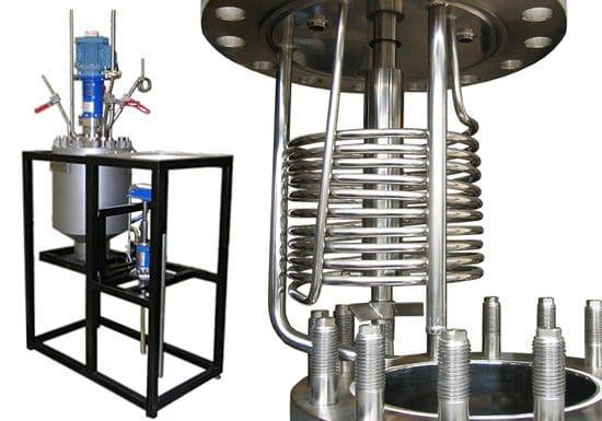 Hydrogenation autoclave 20 L, 50 bar