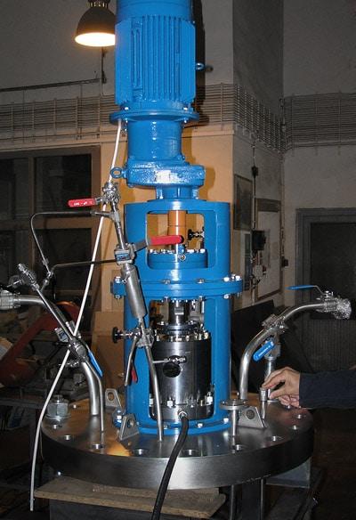 Hydrogenation autoclave 250 L, 80 barg