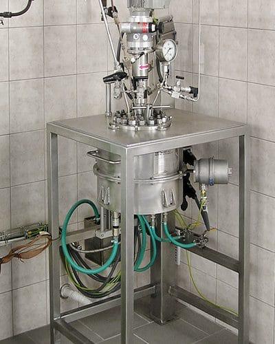 Hydrogenační autokláv 2 L, 350 barg, 250°C