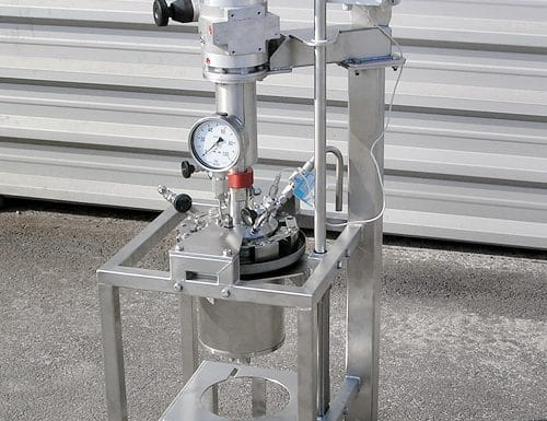 Hydrogenation autoclave 2 L, 50 bar
