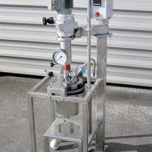 Hydrogenation autoclave 2 L, 50 bar