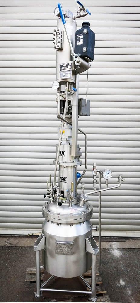 Hydrogenation autoclave 50L