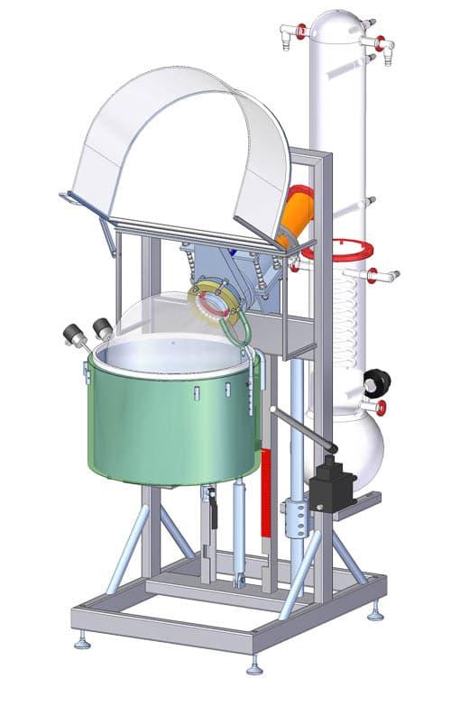 Rotary evaporator CF34a