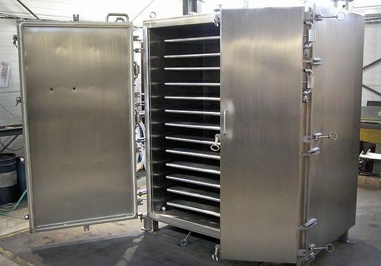 Vacuum dryer GMP 13 – 2050 L
