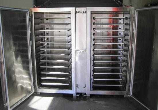 Vacuum dryer GMP 2×10-3