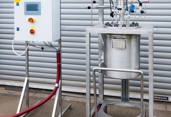 Reaktor 20 L, 90 barg, 250 °C