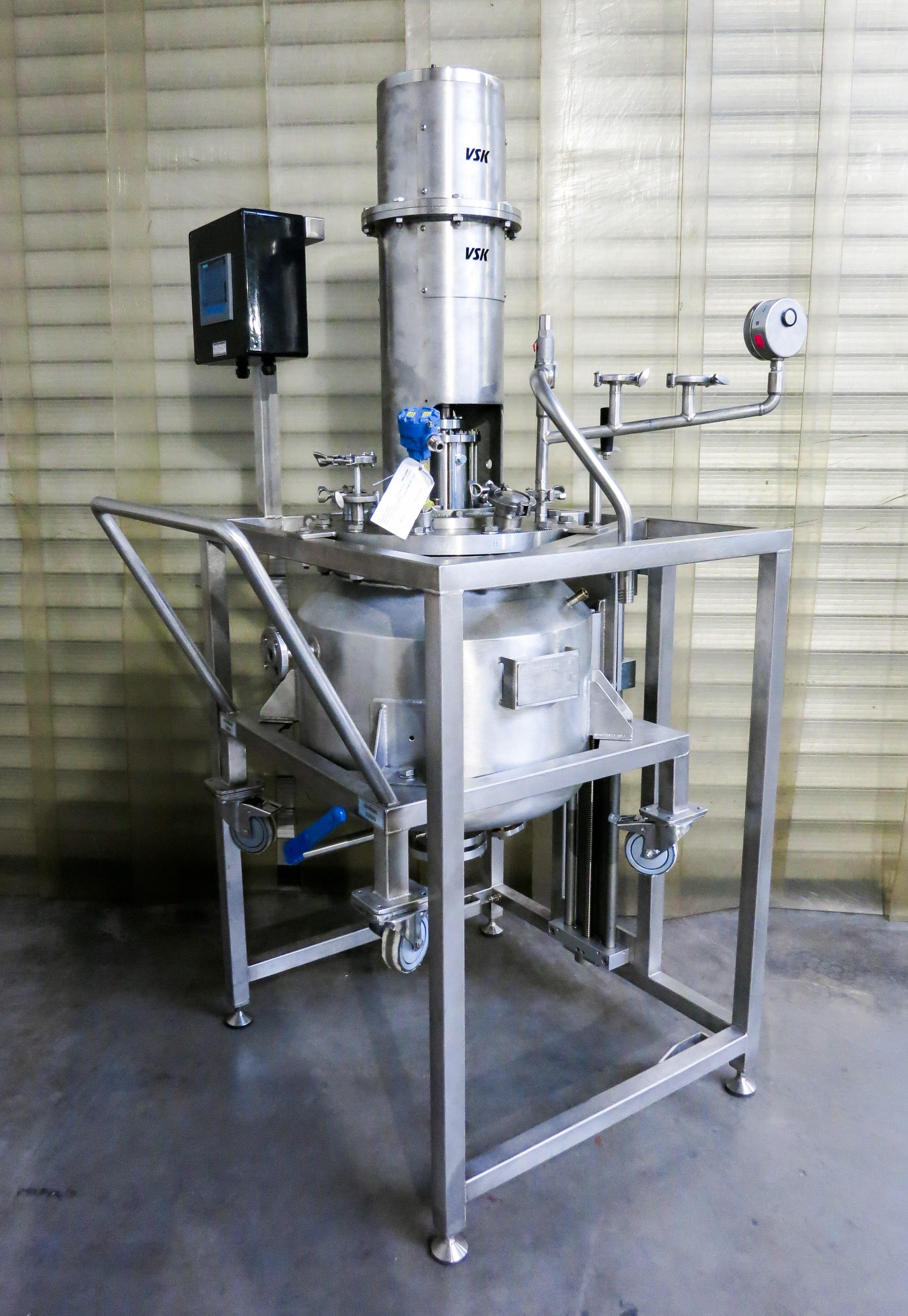 Reaktor 50 L, 6 barg