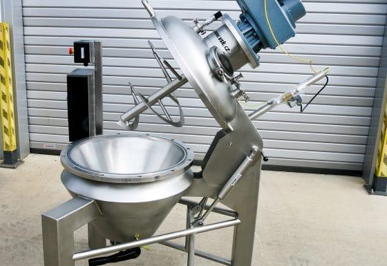 Conical vacuum dryer 50 L